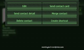 Edit contact detail