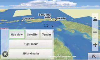 Map display setting