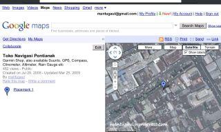 Firefox opening google maps