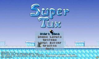 Super tux game