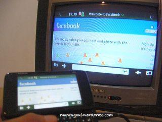 facebook on tv