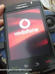 Vodafone splash screen