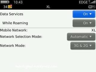 Network setting