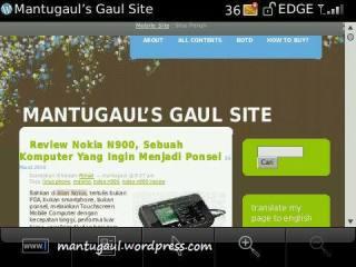 Web browser landscape