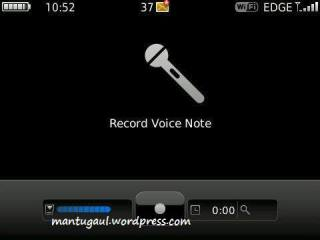 Voice note recorder