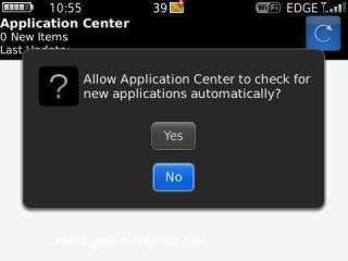 Application center