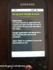 Yes, you need google account since this is a google phone