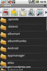 Astro file explorer