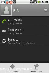 You can add star to this contact
