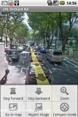 Step forward/backward for every street view detail