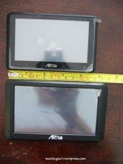 A8010 lebih pendek, meski resolusi layar sama