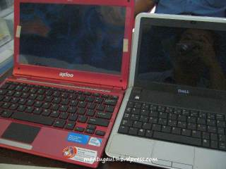 Ukuran vs dell mini 9
