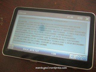 S500 buka txt files
