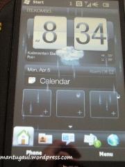 Wah LCD berair sesuai kondisi cuaca tempat kita