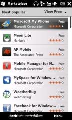 Marketplace untuk download aplikasi (free dan berbayar)