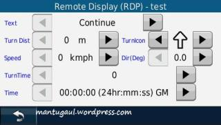 RDP Test (diagnostic mode)