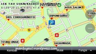 Peta 2D view
