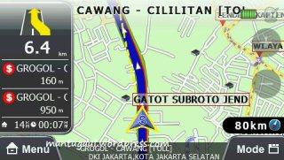 Navigasi dalam peta 2D