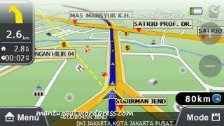 Papago R5800 lengkap petanya seindonesia