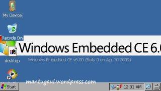 Eh bisa masuk windows mode juga :)