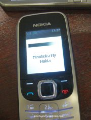 Membuka My Nokia