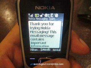 Nokia messaging aktif