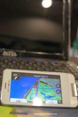 Tampilan peta sudah menyerupai seri 4 digit Nuvi seperti 1350/1460, reviewnya juga sudah tersedia