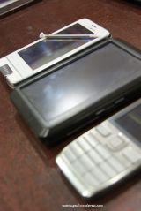 Dibandingkan Nuvi 255w dan Nokia E52