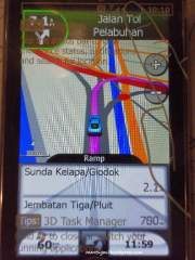 Route detail Jakarta