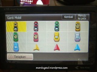Bisa gonta ganti vehicle icon