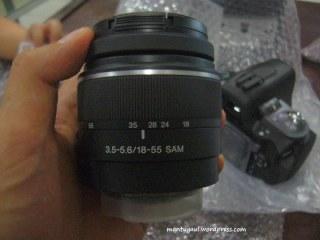 Ini kode lensa yang pendek