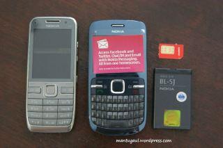 Nokia E52 vs Nokia C3