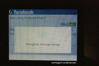 Updating status