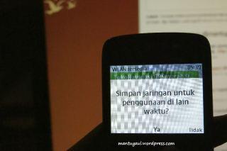 Wifi bisa disave