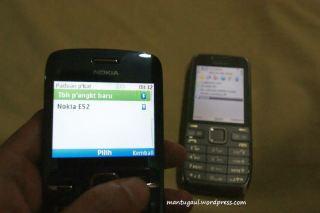 Kita sync sontacts antar ponsel C3 dan E52