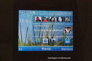 Bisa taruh foto-foto phonebook di homescreen