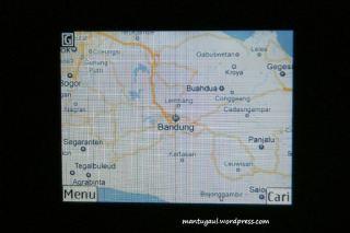 Peta bandung street map