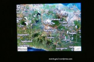 Peta bandung satellite image