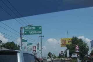 Melalui perjalanan darat menuju Pangandaran