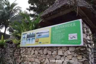 Nah sampai di Riversider Resort