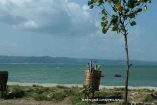 Pantai Pangandaran sebelah timur