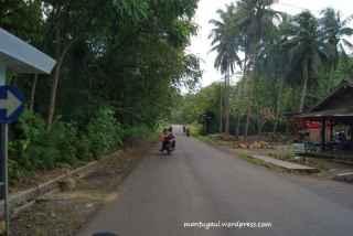 Tampak kiri jalan