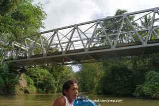 Ini jembatan penghubung Green Canyon dan Batukaras