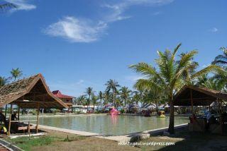 Tempat main perahu Wisata Nusantara Penibung