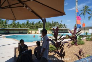 Kolam renangnya Wisata Nusantara Penibung