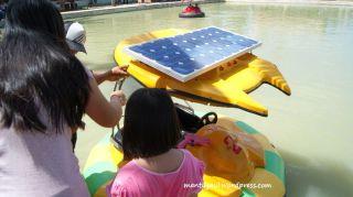 Mulai naik perahu bumper