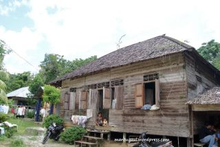 Rumah warga Sibohe