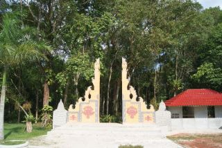 Bukan Bali, tapi Taman Bougenville Singkawang