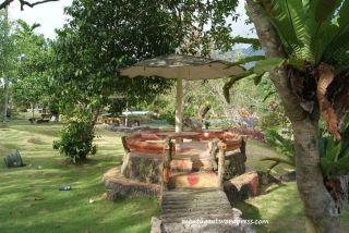 Gazebo Taman Bunga Bougenvil