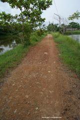 Jalan entah kemana Taman Rekreasi Teratai Singkawang